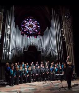 Strindheim Blandakor synger i Nidarosdomen 2014