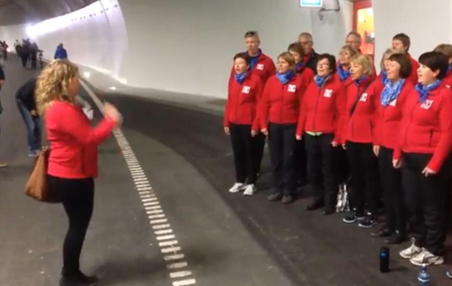 Tunnelvandring Strindheimtunnelen 22 juni 2014